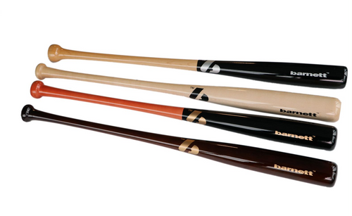 BB-12 baseball bat in quality wood, adult
