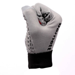 FLGL-02 New generation linebacker football gloves, RE,DB,RB, grey