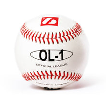 "Load image into Gallery viewer, OL-1 Competition baseballs, Size 9"" White, 2 pieces"