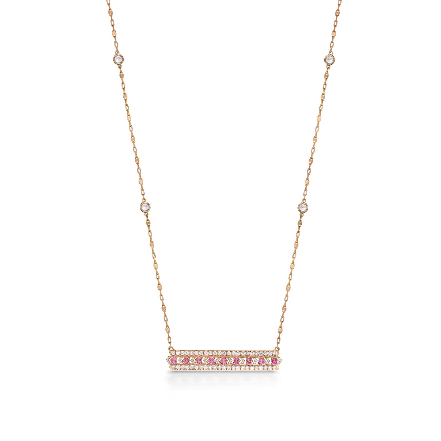 Diamond Pink Necklace