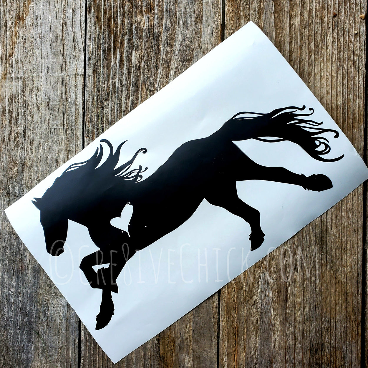 Horse decals by The Cre8ive Chick