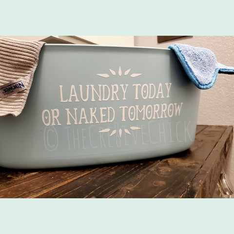 Laundry today or...