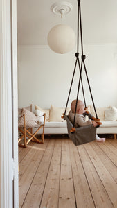 Baby Toddler Swing - Classic Taupe