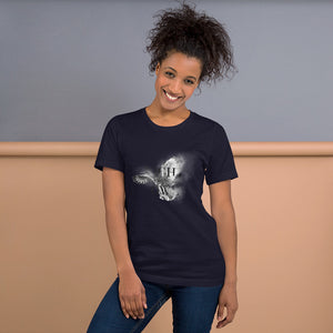 Night owl.. Short-Sleeve Unisex T-Shirt