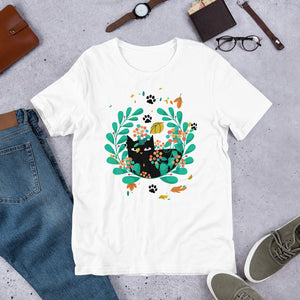 Black Kitten 06 - Short-Sleeve Unisex T-Shirt