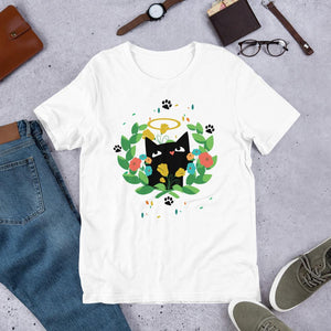 Black Kitten 01 - Short-Sleeve Unisex T-Shirt