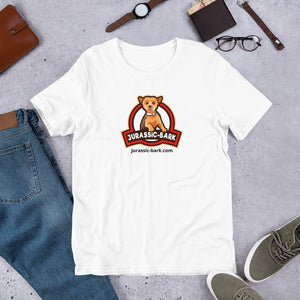 Jurassic Bark official logo.. Short-Sleeve Unisex T-Shirt
