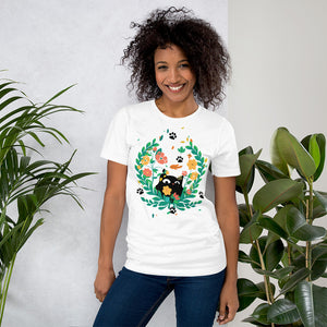 Black Kitten 05 - Short-Sleeve Unisex T-Shirt
