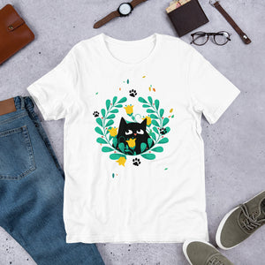 Black Kitten 04 - Short-Sleeve Unisex T-Shirt