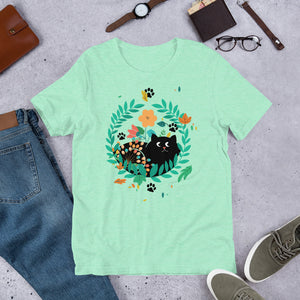Black Kitten 07 - Short-Sleeve Unisex T-Shirt