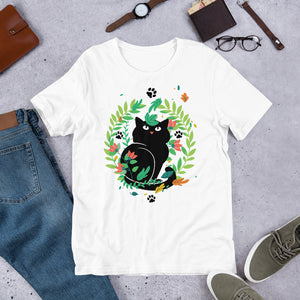 Black Kitten 08 - Short-Sleeve Unisex T-Shirt