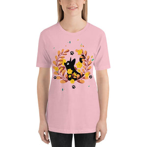 Black Kitten 02 - Short-Sleeve Unisex T-Shirt