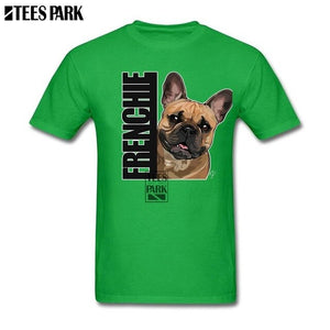 Frenchie (Bulldog) Mens Short Sleeve Tee Shirts