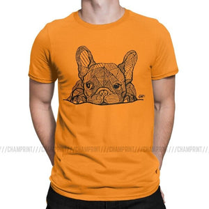 French puppy Bulldog T-Shirt for Men