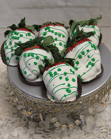 STP-021 White Chocolate dipped strawberries