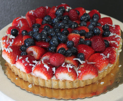 Mixed Berry Fruit Tart