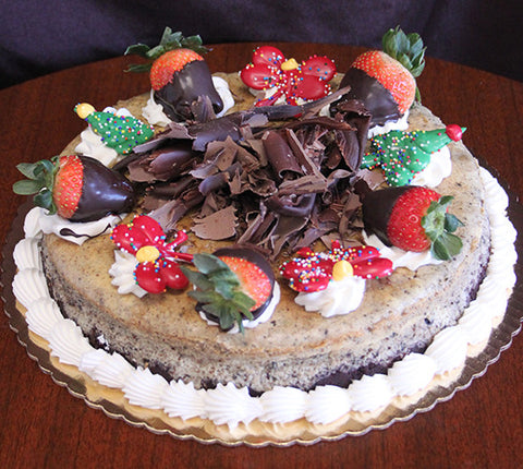 CH-011 Cheesecake- Oreo with Christmas decor