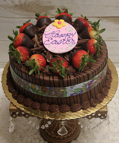 EA-018 Display Chocolate cake with Chocolate mousse filling.