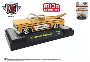 "M2 Machines 1:64 Mijo Exclusive 1973 Chevrolet Cheyenne C10 Truck ""Da Big Kahuna"" with Surfboard Limited Edition 4,800"