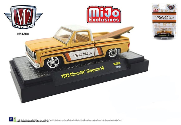 M2 Machines 1:64 Mijo Exclusive 1973 Chevrolet Cheyenne C10 Truck