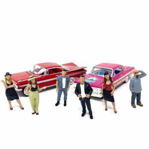 American Diorama 1:64 Mijo Exclusive Lowriders Figures set Limited 3,600 New 2020