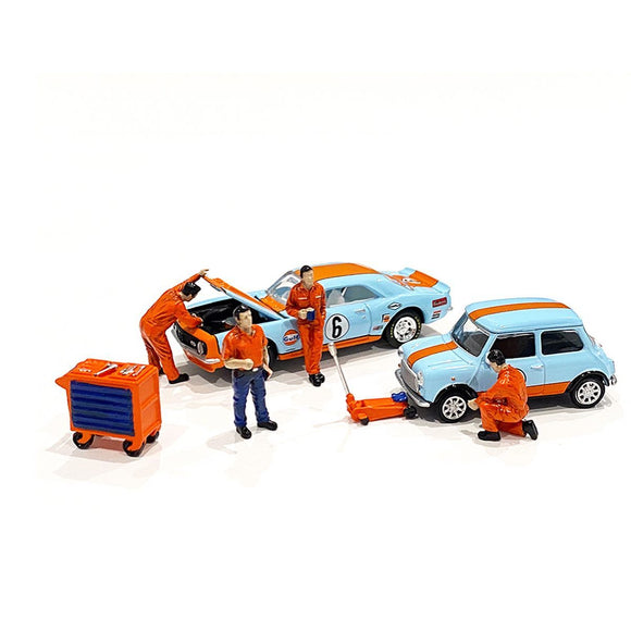 American Diorama 1:64 Mijo Exclusive Mechanic ll Figures set Limited 3,600 New 2020