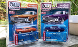 Auto World 1:64 Mijo Exclusive Custom Lowriders 1966 Chevy Impala SS Metallic Purple Limited Edition 4,800 Pcs