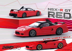 INNO64 1:64 HONDA NSX-R GT RED CHINA EXCLUSIVE