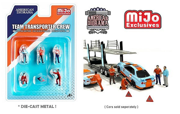 American Diorama 1:64 MiJo Exclusives Figures Team Transporter Crew Limited Edition 4,800 pieces