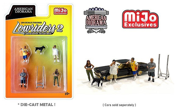 American Diorama 1:64 MiJo Exclusives Figures Lowriders II Limited Edition 4,800 pieces