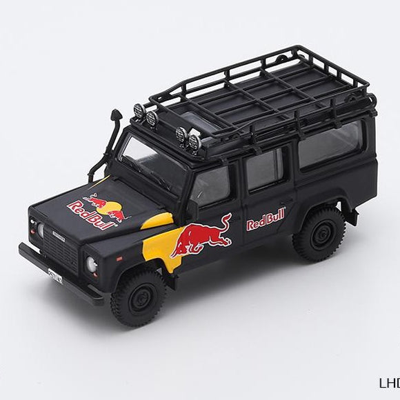 Mini GT 1:64 Land Rover Defender 110 Red Bull LUKA Ltd 3,000 pcs