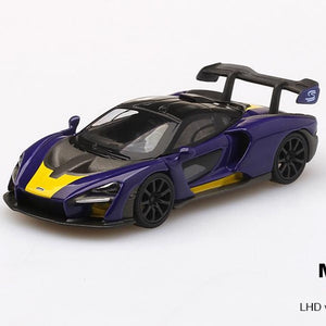 McLaren Senna Purple/Yellow (in box)