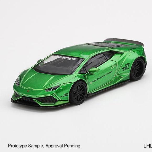 LB★WORKS Lamborghini Huracán ver. 2 Green (in box)