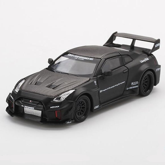 LB-Silhouette WORKS GT NISSAN 35GT-RR Ver.1 Matte Black (China Exclusive)