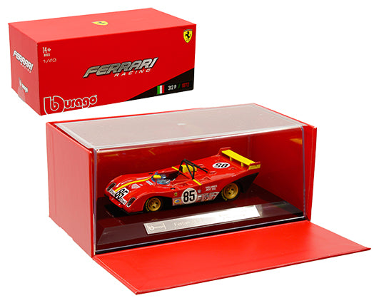 Bburago 1:43 Ferrari Racing - 312 P 1972 - Red