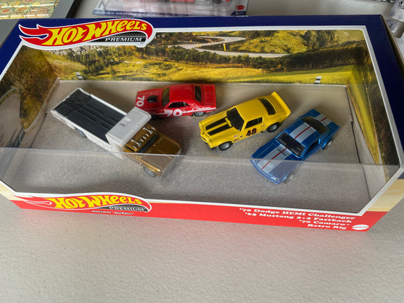 Hot Wheels 1/64 Premium Collector Box Set PONY WARS
