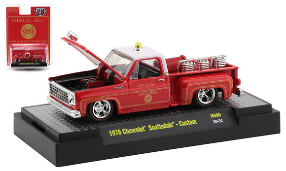 Fire Chief - 1979 Chevrolet Scottsdale Custom Auto-Trucks Release HS06 1:64