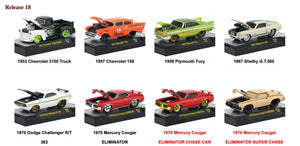 M2 Machines 1:64 Ground Pounders Release 18 (set of six)
