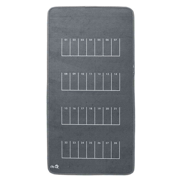 80x40cm 1/64 Anti-Slip Rubber Parking Mat for Desktop PC
