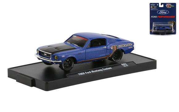 M2 Machines 1:64 Drivers R65 1968 Ford Mustang Custom