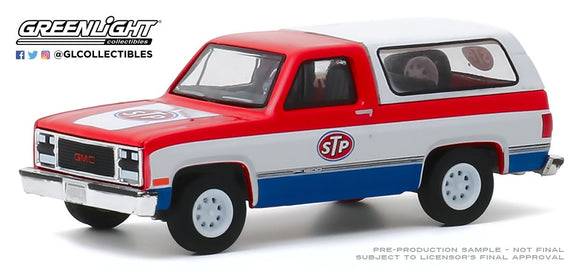 Greenlight 1:64 Blue Collar Collection Series 7 - 1990 GMC Jimmy - STP
