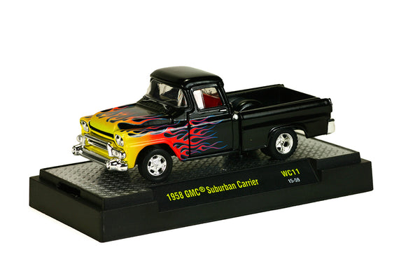 M2 Machines 1:64 Wild Card 1958 GMC Suburban Carrier