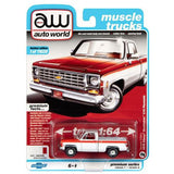 Auto World 1:64 Premium Chevy Stepside Scottsdale Olympic Edition '76