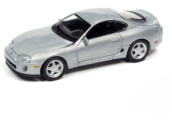 Auto World 1:64 1993 Toyota Supra in Alpine Silver
