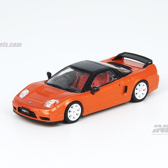 INNO64 1:64 HONDA NSX-R (NA2) Imola Orange Pearl W/ Extra Wheels