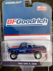 Greenlight 1:64 MiJo Exclusive 82 GMC K-2500 BFGoodrich (Limited to 3000pcs)