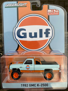 Greenlight 1:64 MiJo Exclusive 1982 GMC K-2500 GULF Limited 3,000
