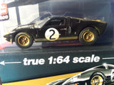 Auto World 1:64 Mijo Exclusive Ford GT 1965 #2 Dirty version Limited 2,400 Bruce McLaren