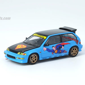 "INNO64 1:64 HONDA CIVIC EF9 ""NO GOOD RACING SUPERMAN"""
