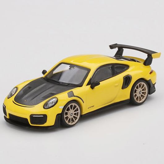 *Preorder* MINI GT 1/64 Porsche 911 GT2 RS  Racing Yellow